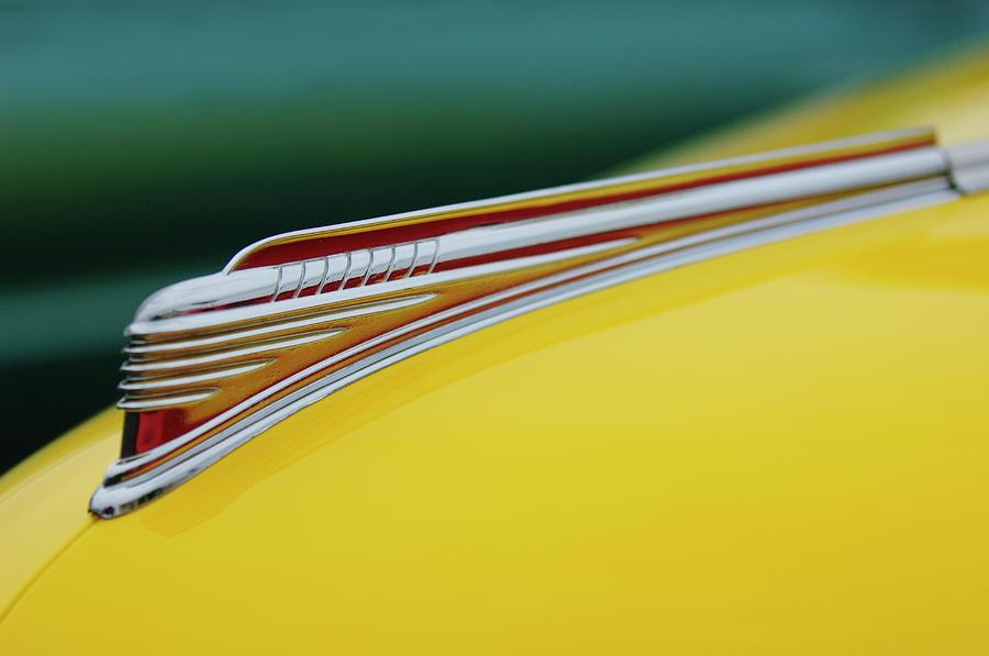 1941 Chevrolet Photograph - 1941 Chevrolet Sedan Hood Ornament by Jill Reger