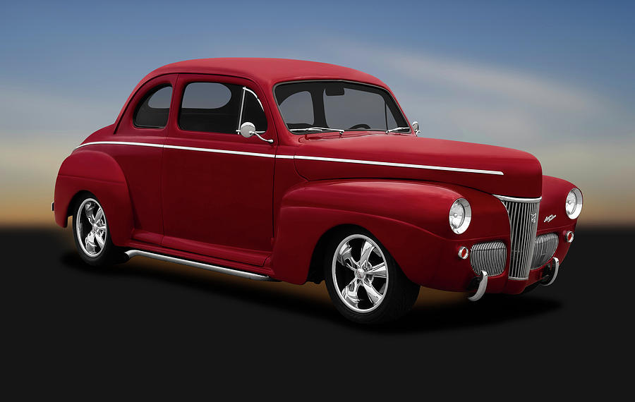 1941 Ford 5 Window Sedan Coupe