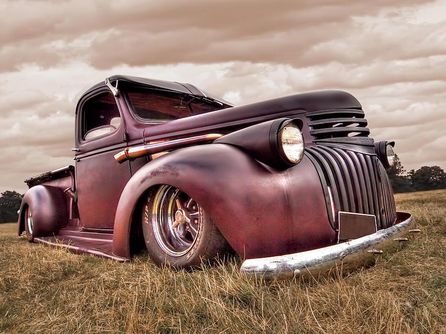 1941 Rusty Chevrolet by Gill Billington