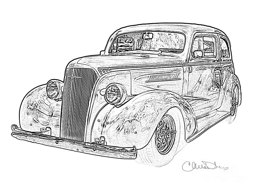 door pencil drawing entrance door 1947 chevy drawing 1942 chevrolet door pencil by christine dekkers