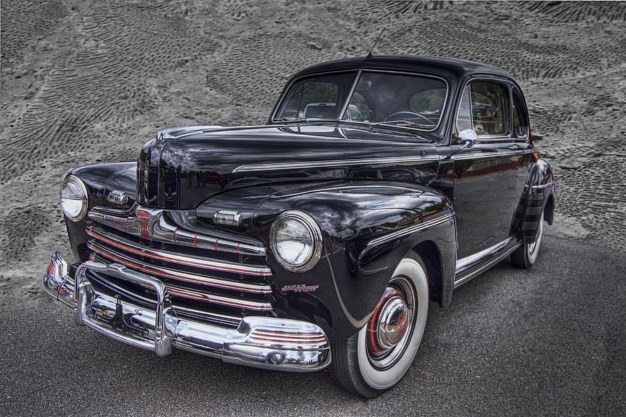 1946 Photograph - 1946 Ford by Debra and Dave Vanderlaan