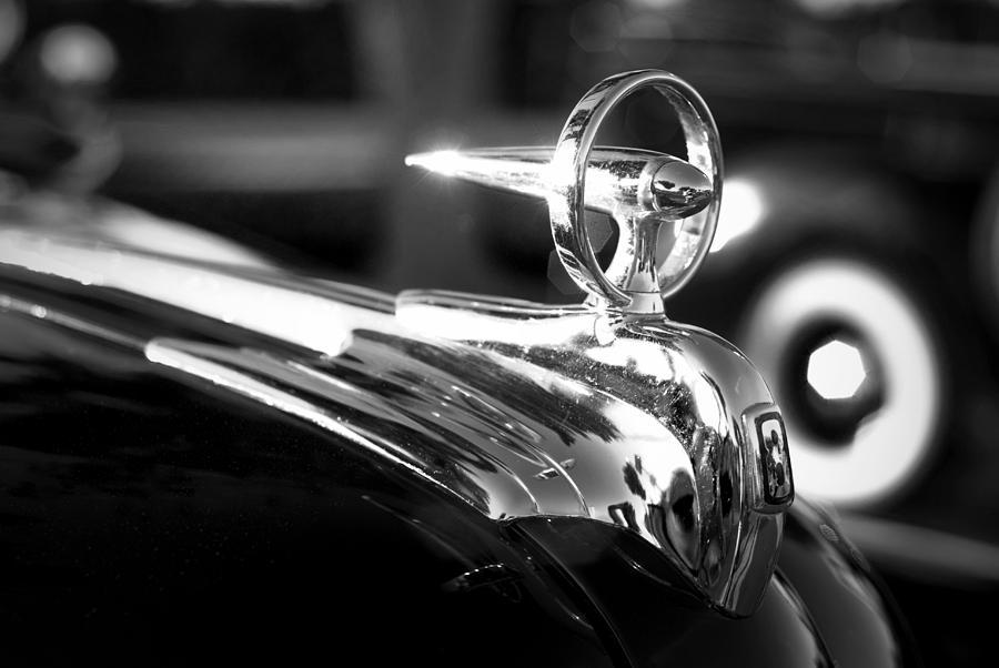 1946 Ford V8 Hood Ornament by Beverly Stapleton