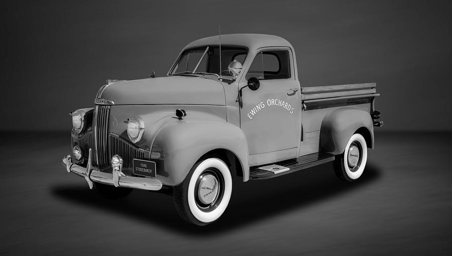 1946 Studebaker M5 Half-ton Pickup - 46stubw3 by Frank J Benz