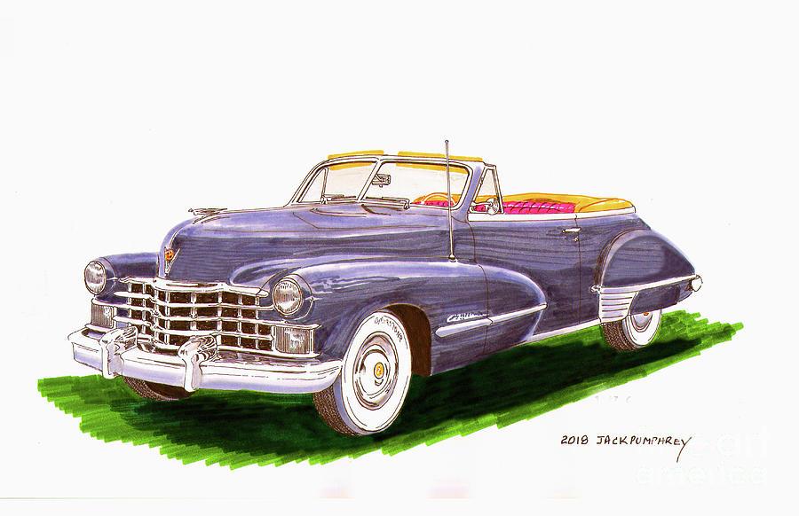 1947 Cadillac Series 62 Convertible by Jack Pumphrey