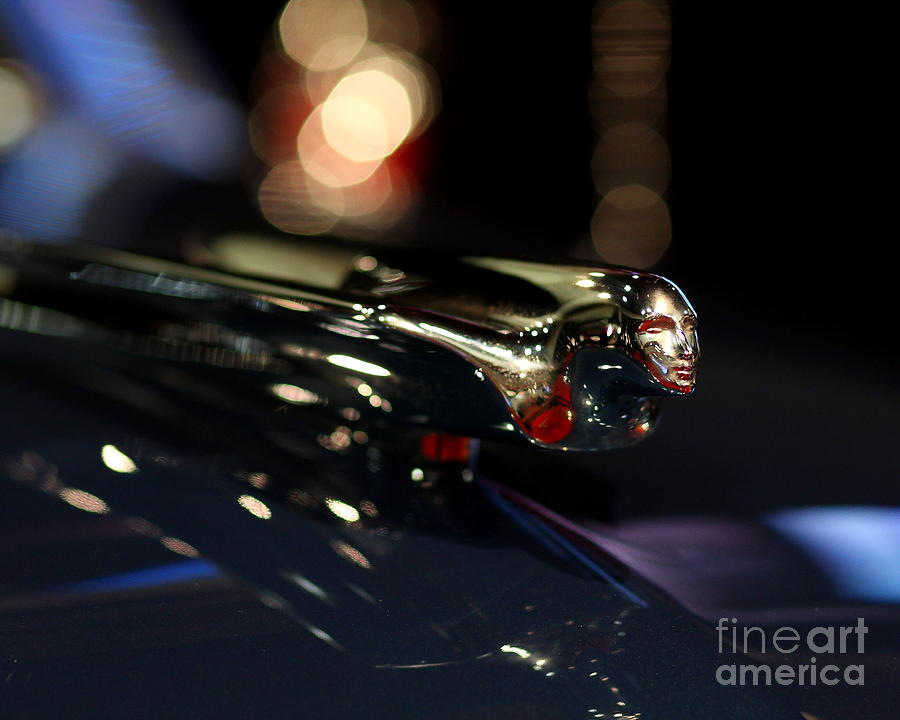 Cadillac Photograph - 1948 Cadillac Coupe Hood Ornament by Wingsdomain Art and Photography