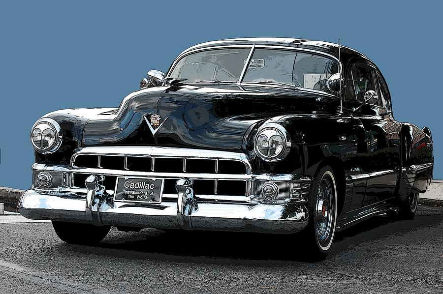 Fastback Photograph - 1948 Cadillac Fastback by Robert Meanor