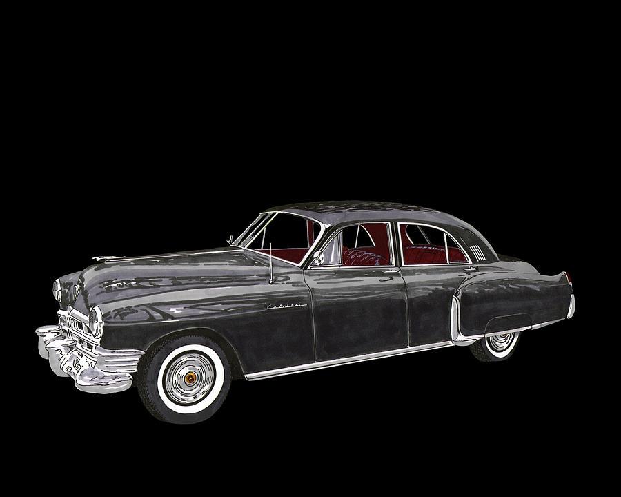 1948 Cadillac Fleetwood Series 62 Painting