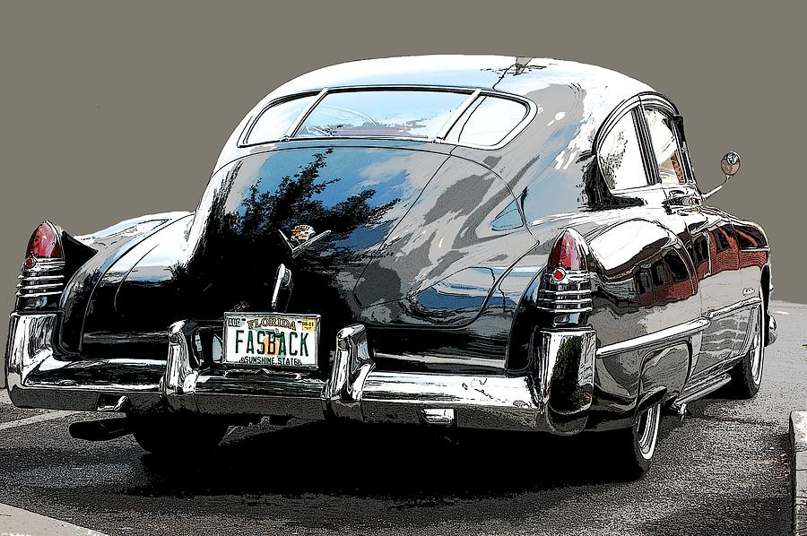 Cadillac Photograph - 1948 Fastback Cadillac by Robert Meanor