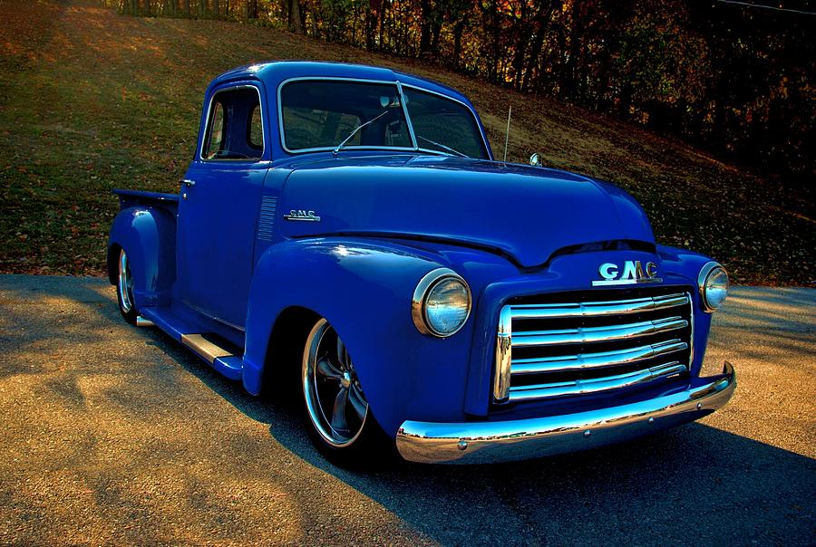1948 Gmc Custom Pickup Truck Photograph by Tim McCullough