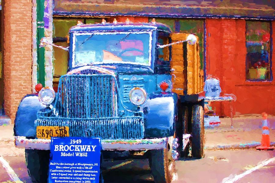 1949 Brockway Model Wh88 Photograph