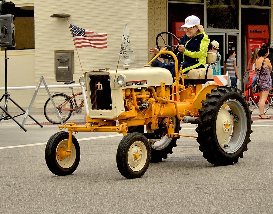 1949 international harvester mccormick farmall cub tractor for International harvester wall decor