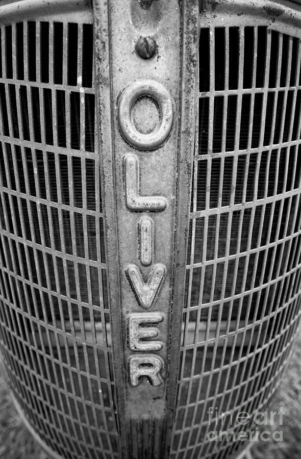 1949 Oliver Tractor Grill Photograph by Patrick M Lynch