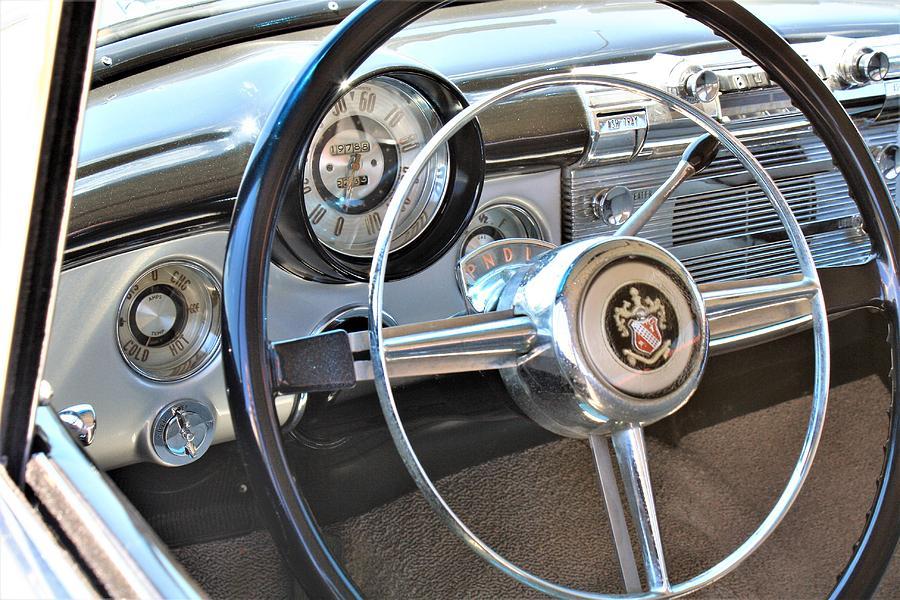 1950 buick eight dashboard photographwhbphotography