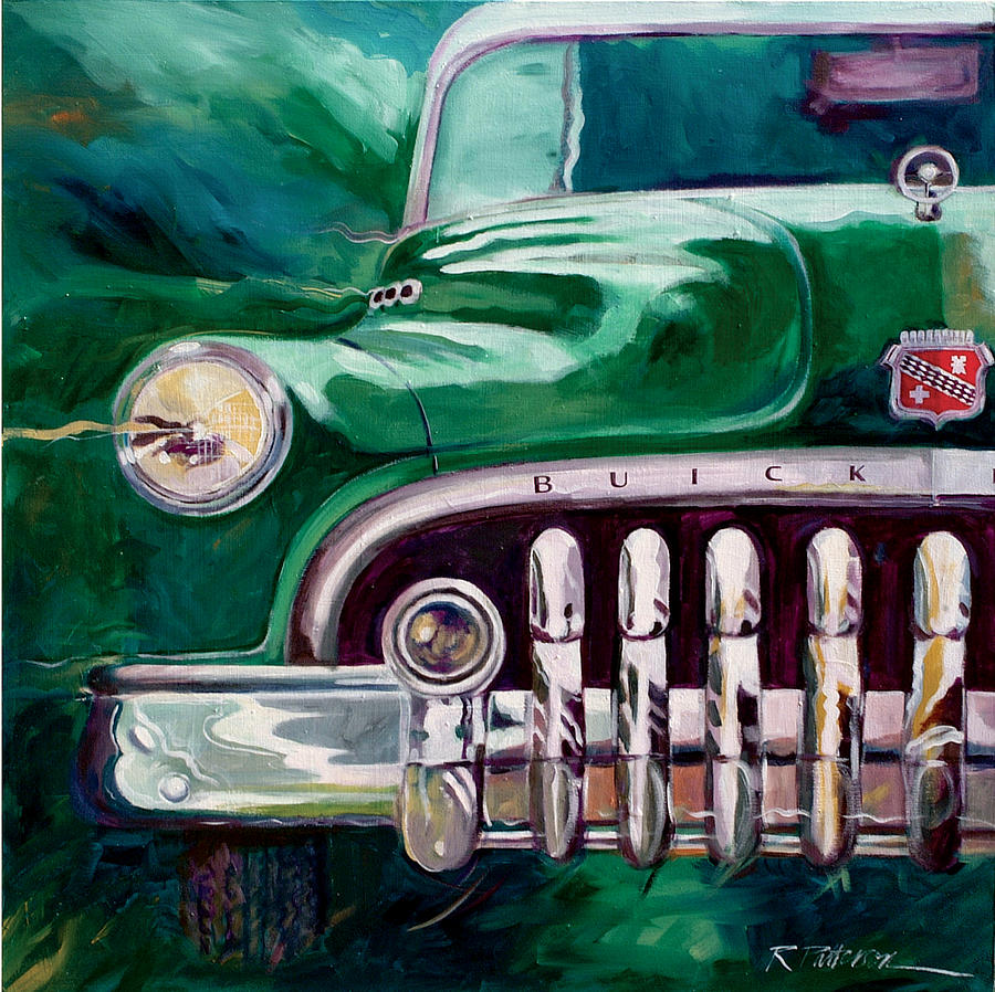 Transportation Painting - 1950 Buick Roadmaster by Ron Patterson