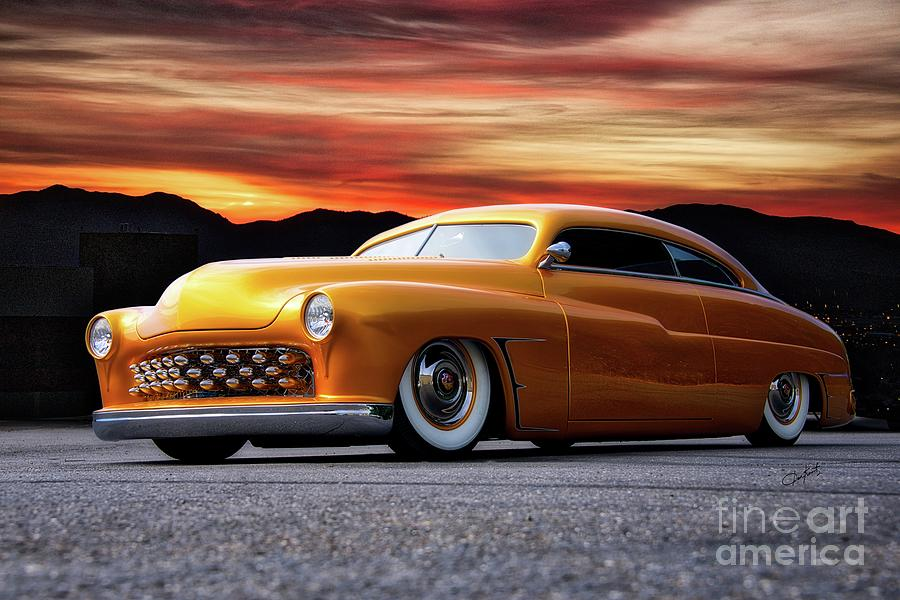 1950 Mercury Custom Coupe 1 Photograph By Dave Koontz
