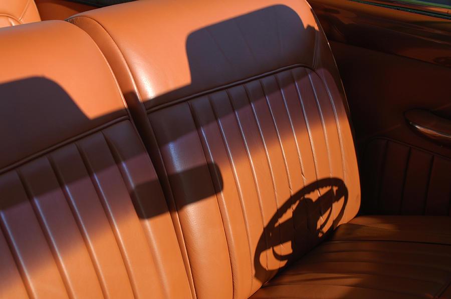 Car Photograph - 1950 Oldsmobile Rocket 88 Convertible Interior by Jill Reger