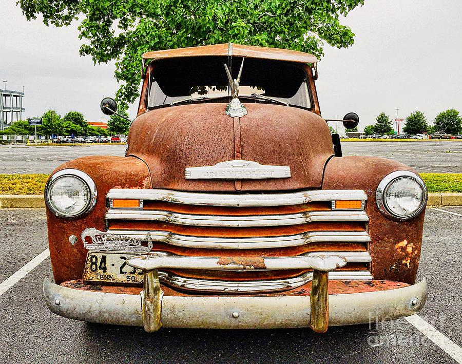 1950 TN Chevy Pick Up by Sue M Marshall