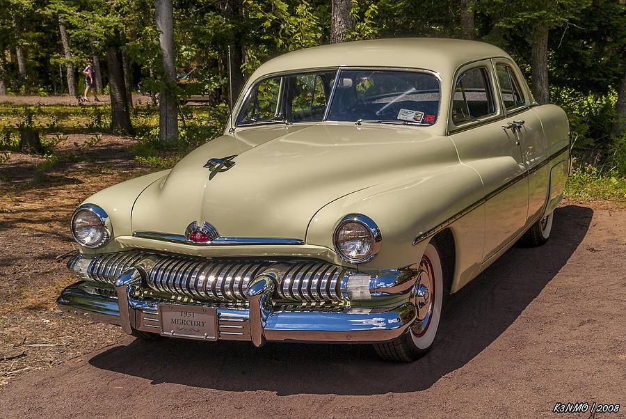 1951 Mercury 4 Door Sedan 1951 Digital Art By Ken Morris