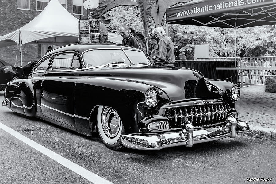 2016 Photograph - 1951 Chevy Kustomized  by Ken Morris
