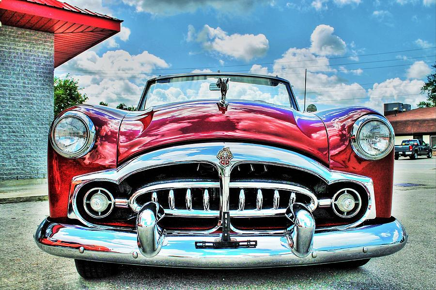 Automobile Photograph - 1952 Packard 250 Convertible by Karl Anderson
