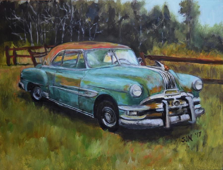 1952 Pontiac Chieftain  by Sandra Nardone