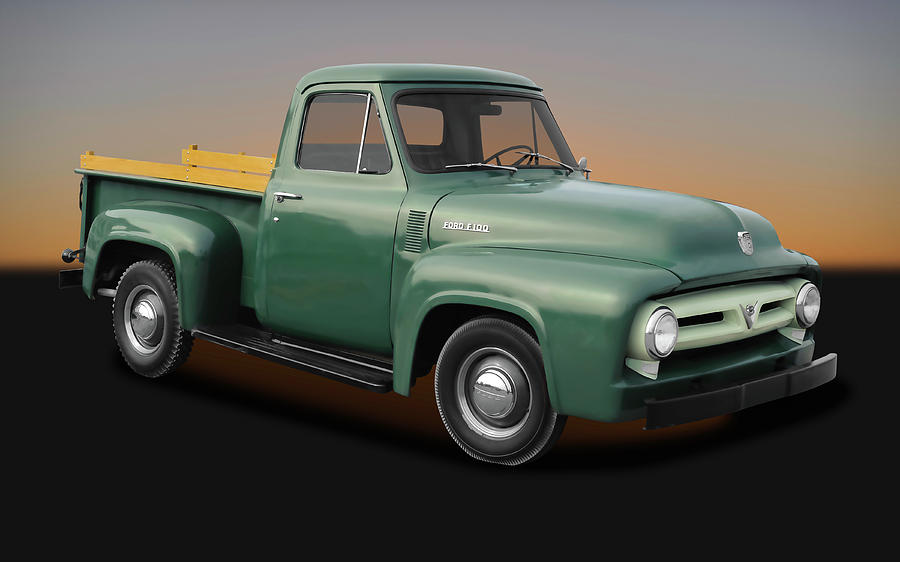 1953 Ford F-100 Pickup Truck - 1953fordf100truck170237 Photograph ...