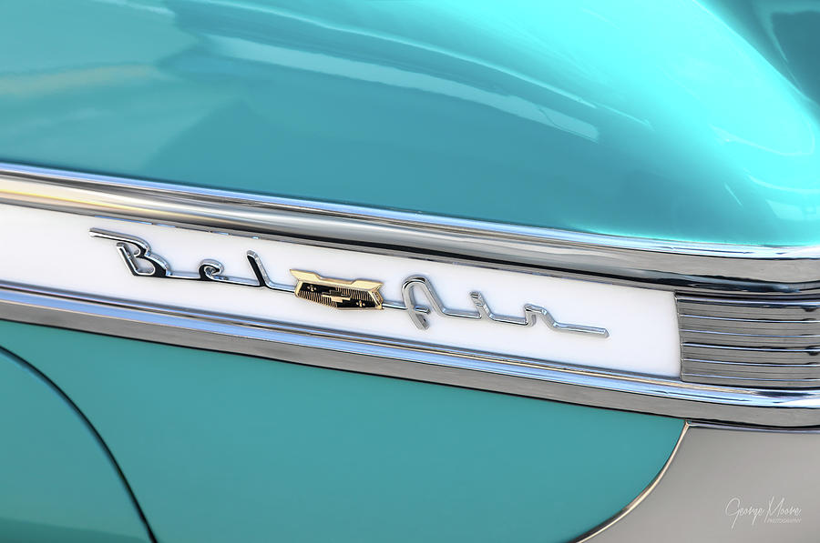 1954 bel air chevy photograph by george moore fine art america