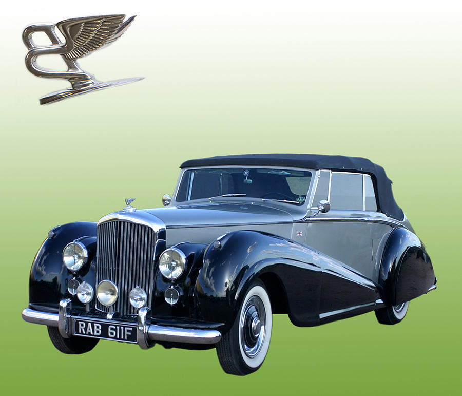 1954 Bentley Drop Head Coupe Photograph