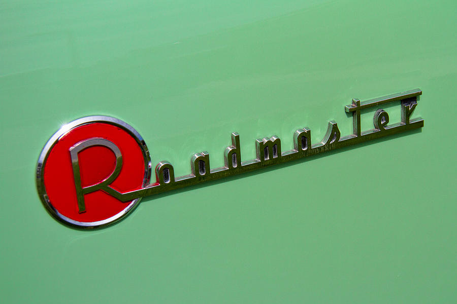 1954 Photograph - 1954 Buick Roadmaster Logo by Nick Gray