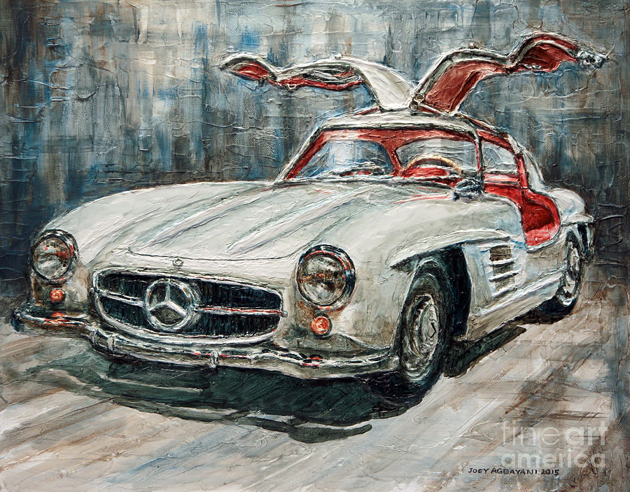 Vintage Car Paintings