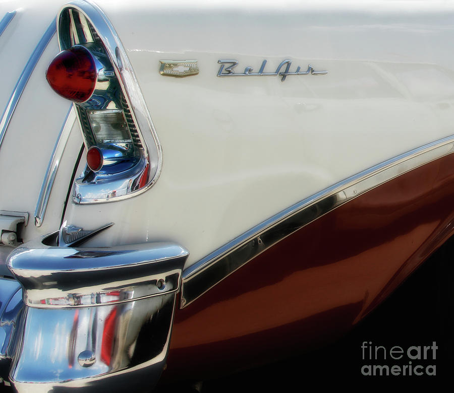 Cars Photograph - 1956 Chevy Nomad  by Steven Digman
