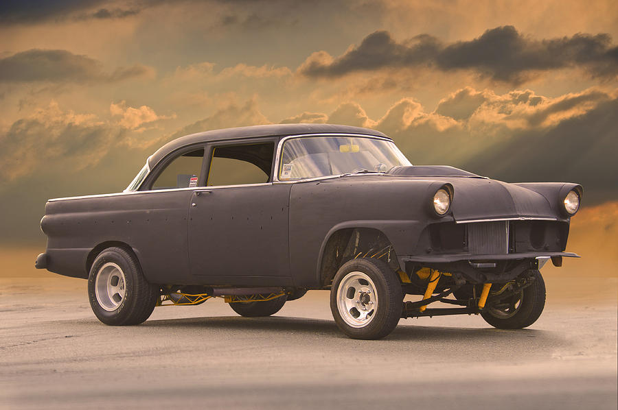 1956 Ford Fairlane Gasser Photograph By Dave Koontz