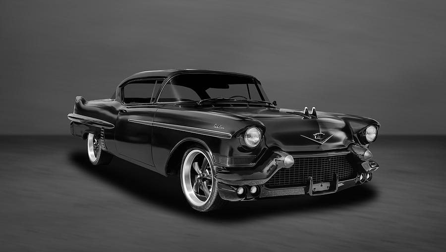 Hot Rod Photograph 1957 Cadillac Series 62 2 Door Coupe 57cad33 By Frank