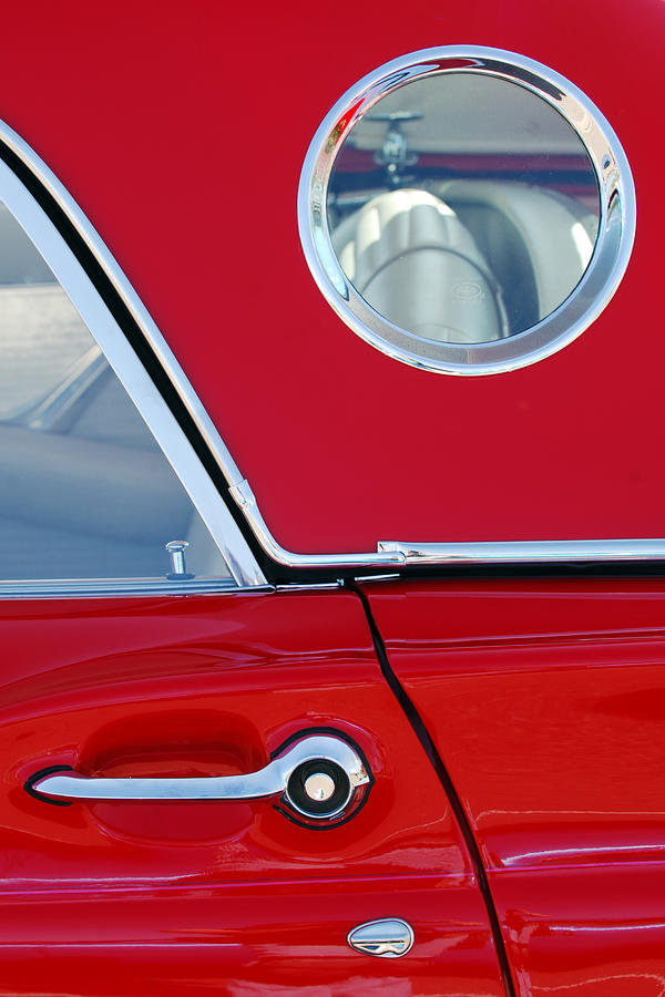 Classic Car Photograph - 1957 Ford Thunderbird  by Jill Reger