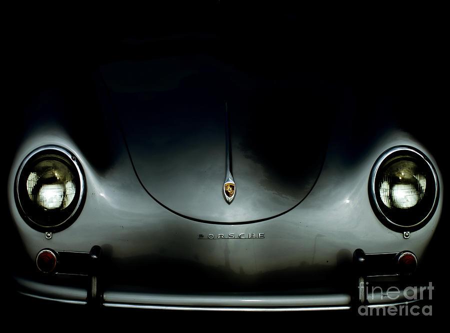 Porsche Photograph - 1957 Porsche Speedster  by Steven Digman