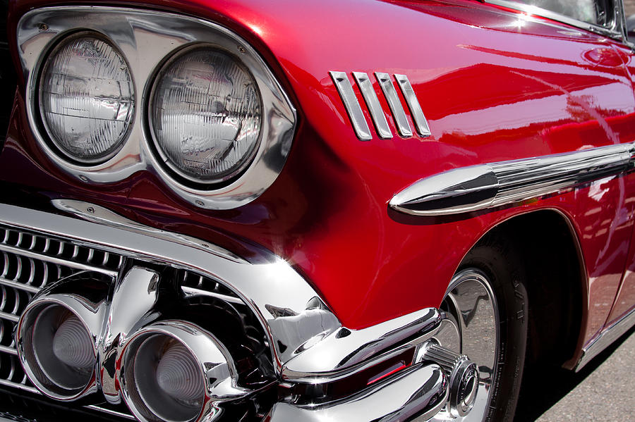 58 Photograph - 1958 Chevy Impala by David Patterson