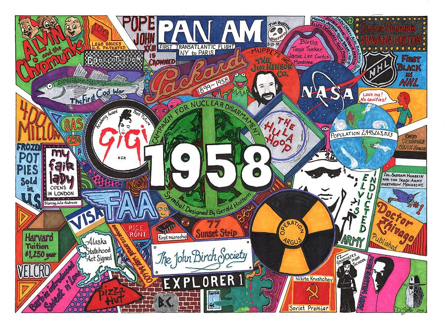 Pan Am Mixed Media - 1958 by David Sutter