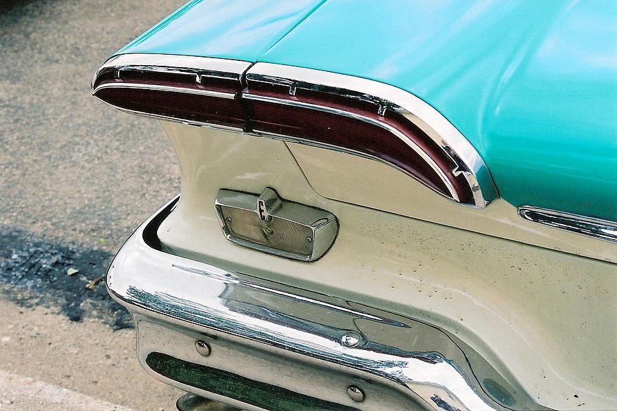 1958 Edsel Photograph - 1958 Edsel Pacer Tail Light by Lauri Novak