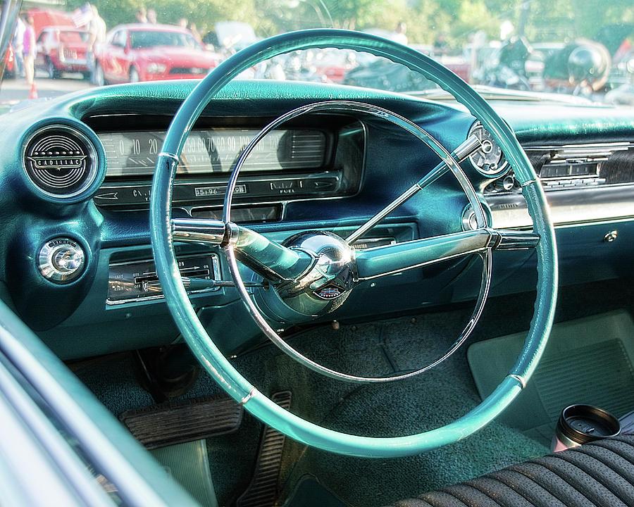 1959 Cadillac Sedan Deville Series 62 Dashboard Photograph By Jon