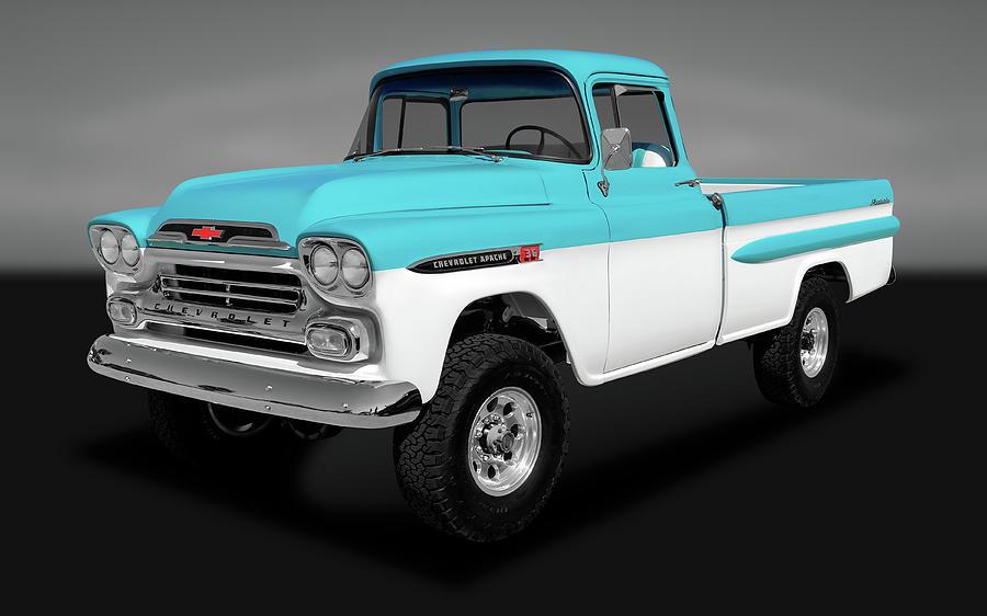 1959 Chevrolet Apache 36 Fleetside
