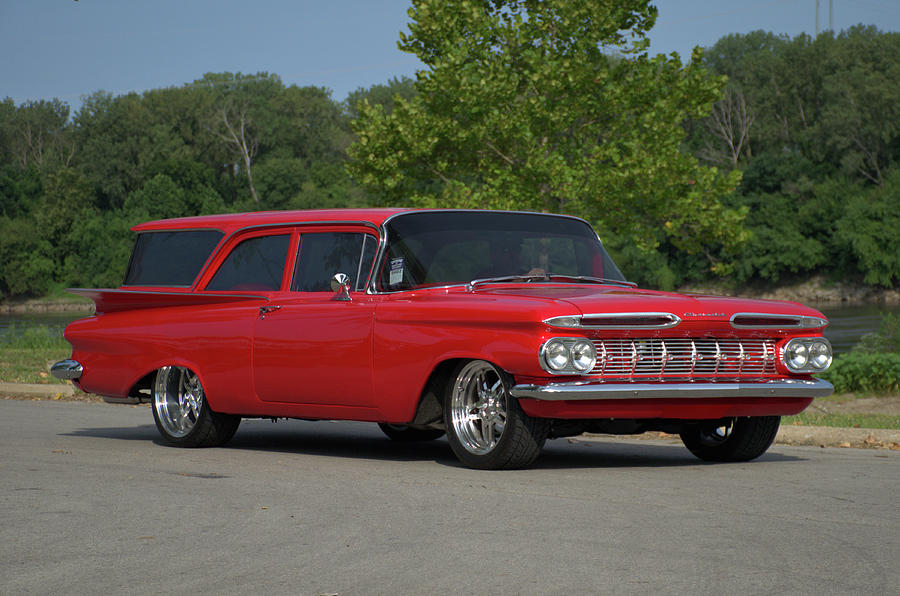1959 Photograph - 1959 Chevrolet Station Wagon by Tim McCullough