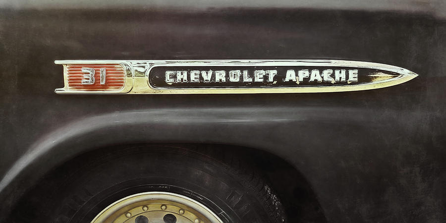 Classic Car Photograph - 1959 Chevy Apache by Scott Norris