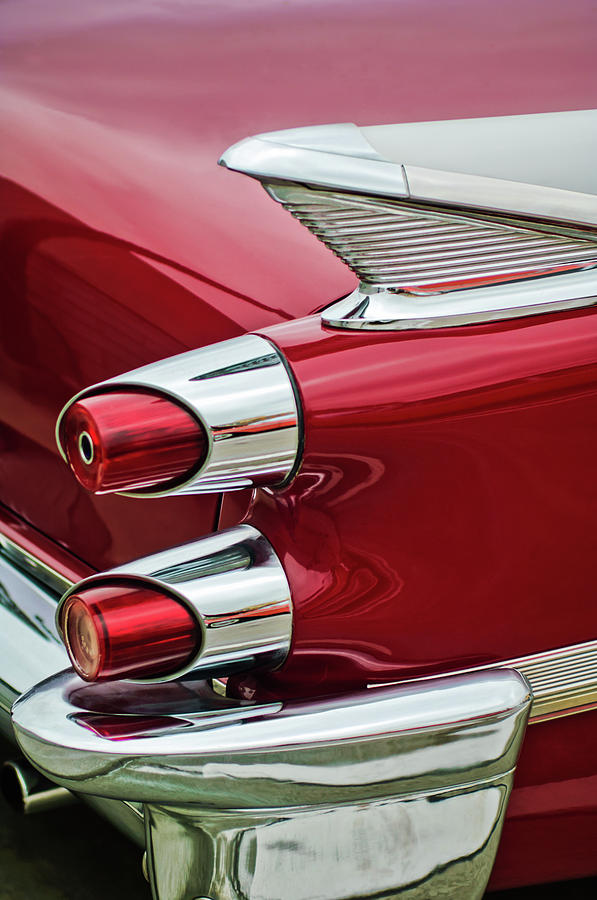 1959 Dodge Taillight Photograph - 1959 Dodge Custom Royal Super D 500 Taillight by Jill Reger