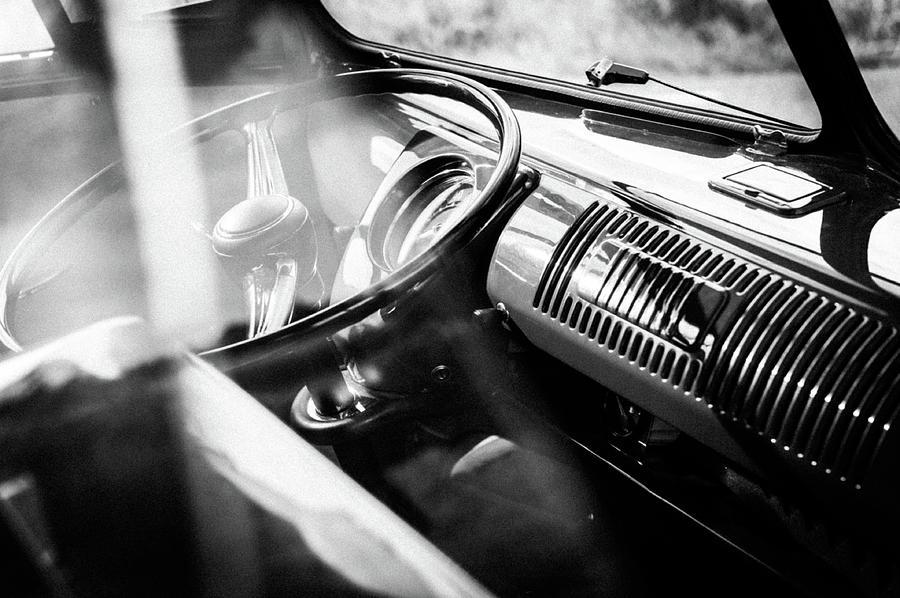 Volkswagen Photograph - 1959 Volkswagen T1 Interior by Wim Slootweg
