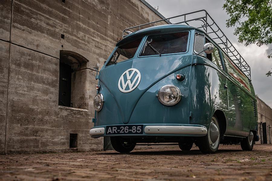 Volkswagen Photograph - 1959 Volkswagen T1 Panel Van by Wim Slootweg