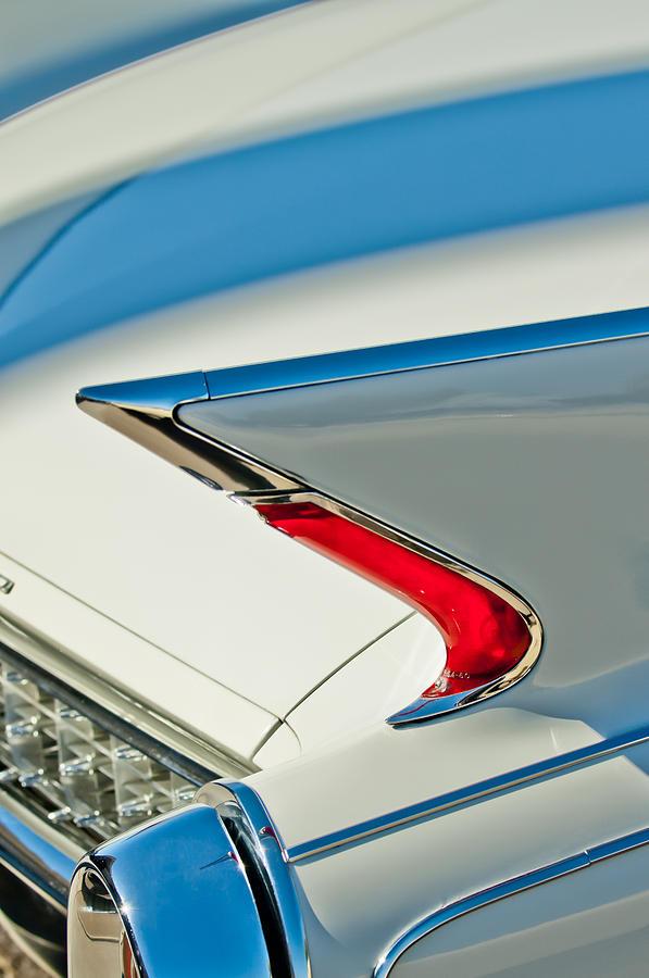 1960 Cadillac Eldorado Biarritz Convertible Taillight by Jill Reger