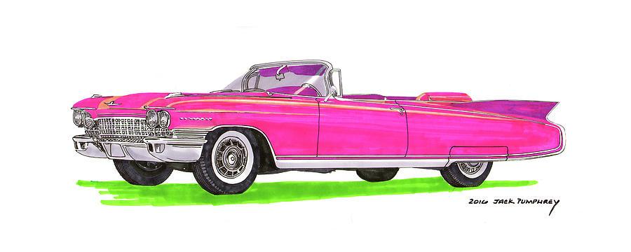 1960 Cadillac Eldorado Biarritz Painting