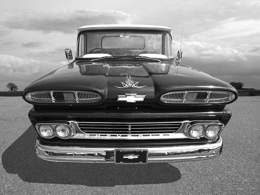 60s Chevy Truck >> 1960 Chevy Truck Photograph by Gill Billington