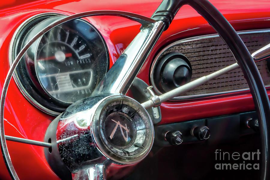 1960 Rambler Dashboard Photograph