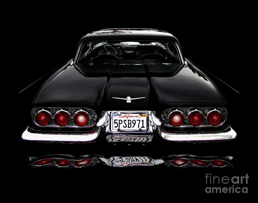 1960 Thunderbird Photograph - 1960 Thunderbird Hardtop Coupe by Peter Piatt